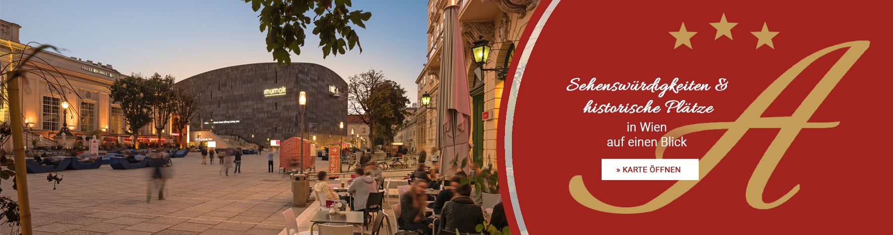 Sehenswürdigkeiten & historische Plätze in Wien
