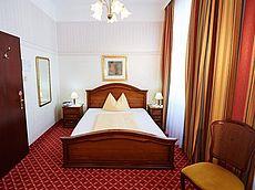 Einzelzimmer im Hotel Austria in Wien