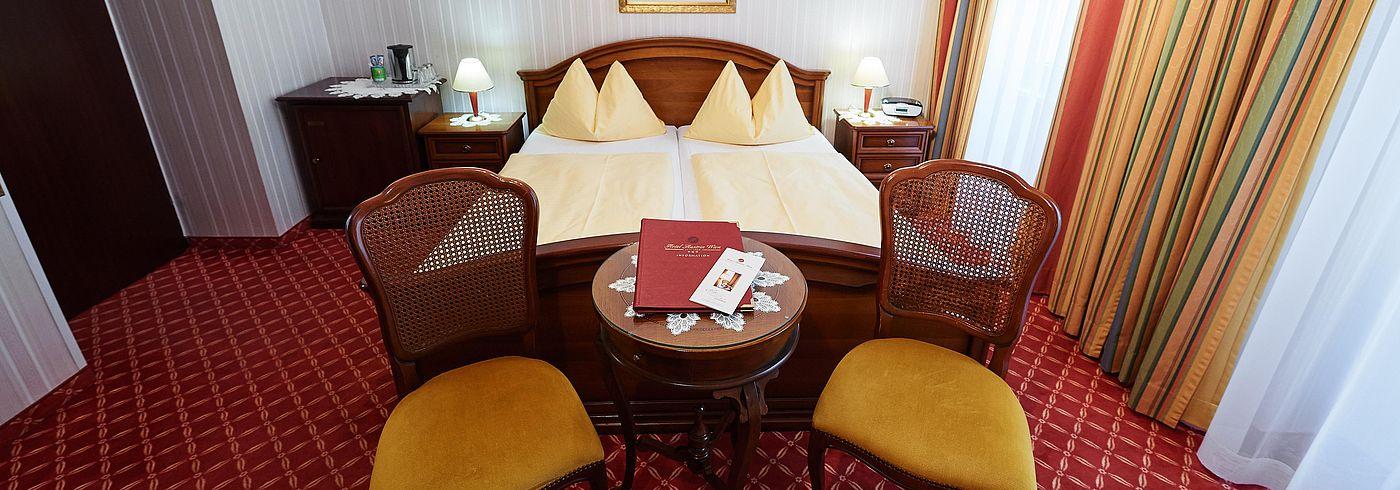 Standardzimmer im Hotel Austria in Wien
