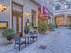 Außenaufnahme Hotel Austria - Wien