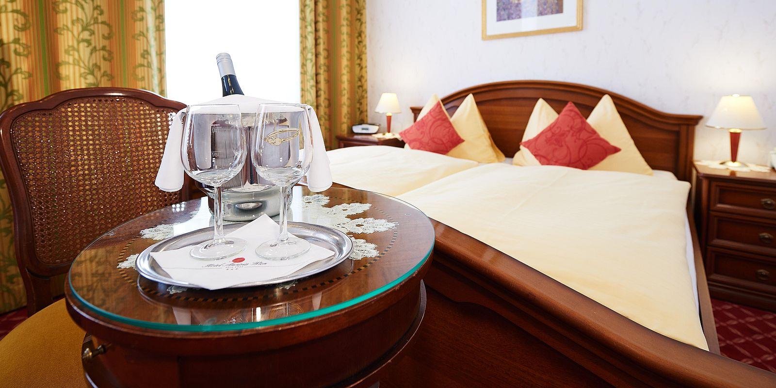 Doppelzimmer Standard im Hotel Austria Wien