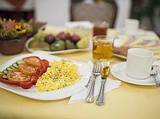 Eierspeis für ein pikantes Frühstück