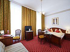 Komfortzimmer im Hotel Austria in Wien