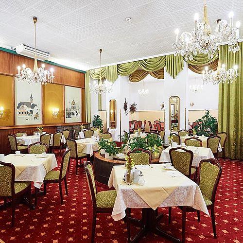 Frühstücksraum im Hotel Austria - Wien