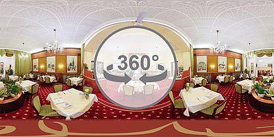 Frühstücksraum im Hotel Austria Wien