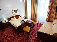 Doppelzimmer im Zentrum von Wien im Hotel Austria