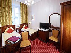 Komfortzimmer mit getrennten Betten