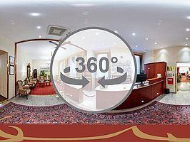 Rezeption im Hotel Austria Wien
