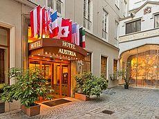 Eingang Hotel Austria - Wien