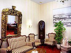 Sitzecke in der Hotel Austria Lobby