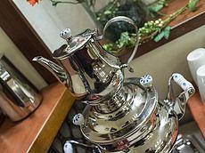 Heißes Wasser für die tägliche Tasse Tee