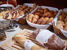 Täglich frisches Brot zum Frühstück
